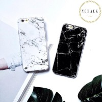marble jelly case ip iphone 5 5S SE 6 6S 6+ 6S+ plus 7 7+ 8 8+ cute