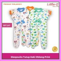 sleepsuit bayi sleepsuit tutup kaki baju tidur bayi piyama bayi WP24P