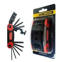 kunci sepeda / tool set united 15 in 1