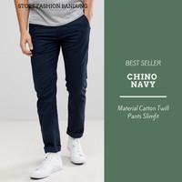 Celana Chino Navy