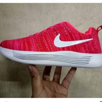 Sepatu Sneaker Nike Lunar Glide Red Pria