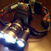 Lampu Kepala T6 High Power Headlamp Cree XM-L T6 5000 Lumens