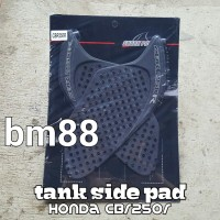 Tank Side Pad Honda CBR250R SHARK POWER - Rubber Karet Tankpad