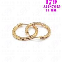 Anting Gipsy Anak Motif Kotak Perhiasan Imitasi Lapis Emas 18K 179