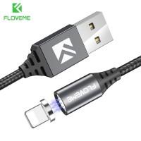 39 Kabel Iphone FLOVEME Magnetic Charger Kabel Untuk iPhone X 6 Ditamb
