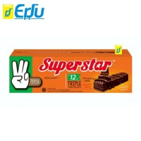 Superstar Triple Chocolate Wafer 1 Box