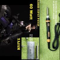 Solder 60W Cepat Panas 60 W watt runcing Tajam Handphone IC Board PC