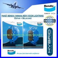 Paket Bendix Yamaha New Vixion Lightning. R15. Jupiter MX - Biru