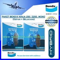 Paket Bendix NINJA 250. Z250. 250 MONO. 150RR. ATHLETE - Biru