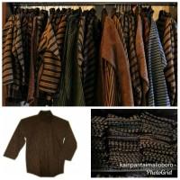 surjan pakaian adat jawa baju lurik baju dalang baju kusir