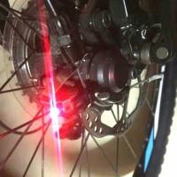 Lampu Belakang Sepeda / Lampu Rem Sepeda / Lampu Sinyal Sepeda