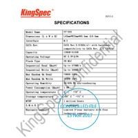 KingSpec NGFF M.2 M2 SSD 128GB 2242 22x42mm SATA3 NT-128 NT128