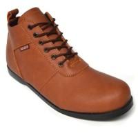 Sepatu Pria Black Master New Brodo Tan Boots Tracking Hiking Kerja