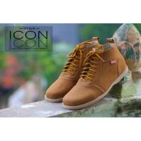 Sepatu Pria Icon Brodo Gwen Tan Formal Casual Kerja Kantor