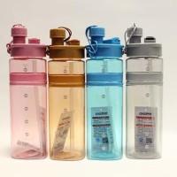 3C1095 Botol Minum Sport - Botol Minum Air With Sedotan Bottle H-7259