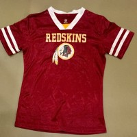 Kaos Nfl cewek Redskins - Merah, M