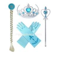 1 Set isi 4 item Aksesoris Frozen Elsa