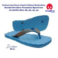 Sandal Swallow Premium Spectrum Pria - Biru