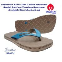 Sandal Swallow Premium Spectrum Pria - Coklat