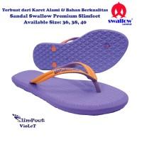 Sandal Swallow Premium SlimFeet Wanita - Violet