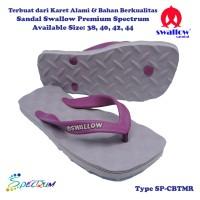 Sandal Swallow Premium Spectrum Pria CoffeeBrown - Tali Maroon