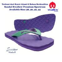 Sandal Swallow Premium Spectrum Pria - Violet