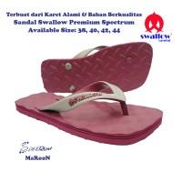 Sandal Swallow Premium Spectrum Pria - Maroon
