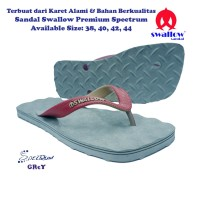 Sandal Swallow Premium Spectrum Pria - Abu