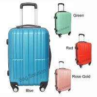 Real Polo Tas Koper Hardcase Fiber ABS 4 Roda Putar- 7717 Size 20 inch