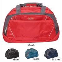 Real Polo Travel bag - Duffle bag - Tas pakaian multi fungsi 7058