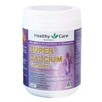 Healthy Care Super Calcium   Vitamin D 400 Tablets