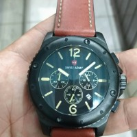 jam tangan swiss army chronograph