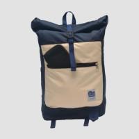 Tas Ransel Gulung Lienzo Lightpack Navy Khaki Original Murah Limited