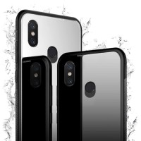 Xiaomi Mi A2 / Mi 6X Case Luxury Tempered Glass Premium Case