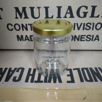 Toples Kaca 250 ml / Botol Kaca / Glass Bottle / Jar Bottle / Kaca