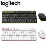 Logitech MK240 Wireless Combo   MK 240 Keyboard Mouse - Hitam