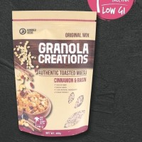 Granola Creation 400gr - Cinnamon & Raisin (Ready Stock)