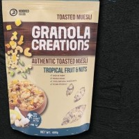 Granola Creation 400gr - Tropical fruit & Nuts (Ready Stock)