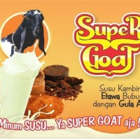 Super goat susu kambing etawa bubuk dengan gula aren