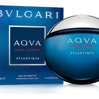 Parfum Ori Segel Box Bvlgari Aqua Atlantique EDT 100 Ml - BPOM