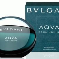 Parfum Ori Box Segel Bvlgari Aqua PourHomme EDT 100 Ml - BPOM