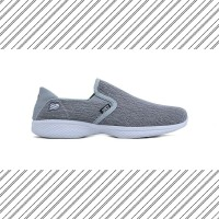 SEPATU SNEAKERS RUNNING SLIP ON WANITA HRCN SHOES PYLON GREY