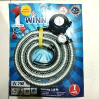 Winn gas paket selang gas flexibel regulator w 289 m