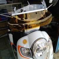 Aksesoris Motor Scoopy Visor Windshield Flyscreen Scoopy