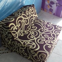 sofa lipat inoac standart motif banyak pilihan rumah tangga