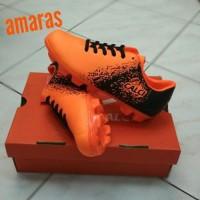 sepatu bola anak CALCI EMPIRE FG.orange 33-37 Berkualitas