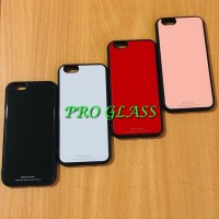 C104 Iphone 7 / 8 Tempered Glass Back Premium Case / case silicon