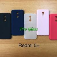 C107 Xiaomi Redmi 5 5 PLUS Ultrathin Silicone Case / Matte Case