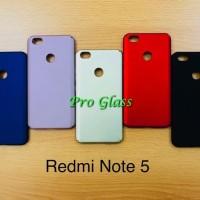 C106 Xiaomi Redmi Note 5A Matte Doff Baby Skin Case Premium Quality