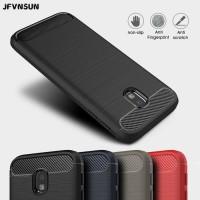 Case Samsung J7 Pro - BLACK Rugged Armor Softcase